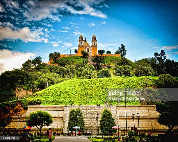 cholula - puebla mexico stock pictures, royalty-free photos & images