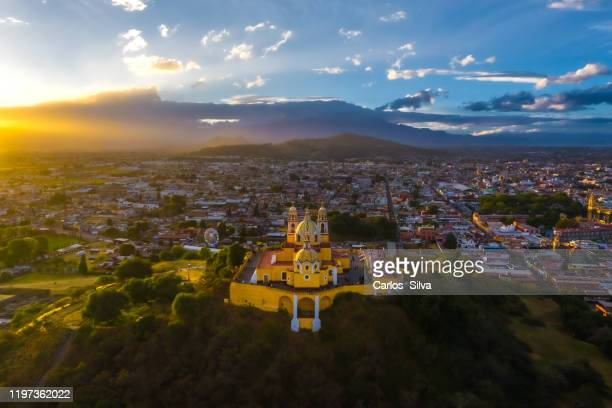 cholula puebla city - puebla state stock pictures, royalty-free photos & images