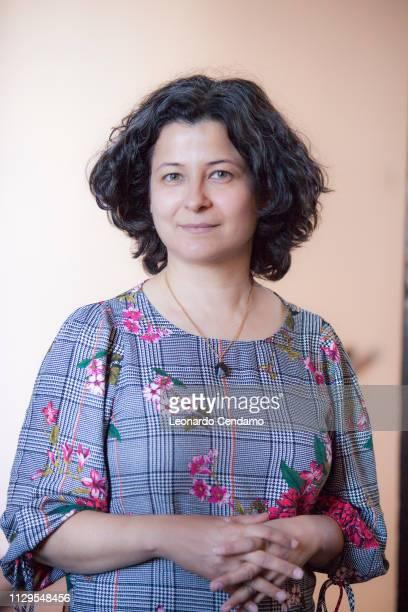 Choman Hardi, Kurish Iraqi writer, Orbetello, Italy, 8th September 2017.