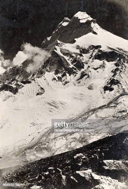 Chomo Lonzo China May 1921 Mount Everest Expedition 1921