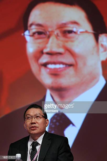 Chong Kim Seng chief executive officer of Bursa Malaysia Derivatives Bhd speaks at the Palm and Lauric Oil conference in Kuala Lumpur Malaysia on...