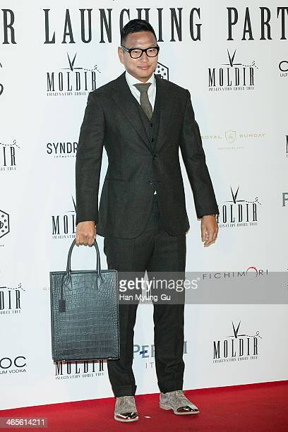 Chong Te-Se of Suwon Bluewings attends the Moldir Launching Party on January 24, 2014 in Seoul, South Korea.