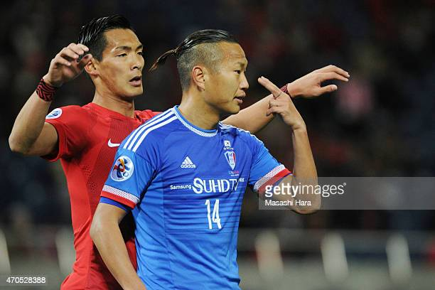 Chong Tese of Suwon Samsung FC looks on during the AFC Champions League Group G match between Urawa Red Diamonds and Suwon Samsung FC at Saitama...