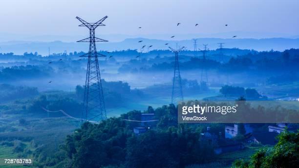 Chongqing Jiangjin rural scenery,China