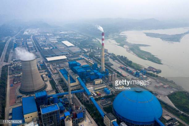 chongqing nine dragons aerial view - visual_effects stock pictures, royalty-free photos & images
