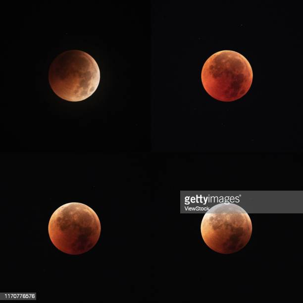 chongqing total lunar eclipse - total look stock pictures, royalty-free photos & images