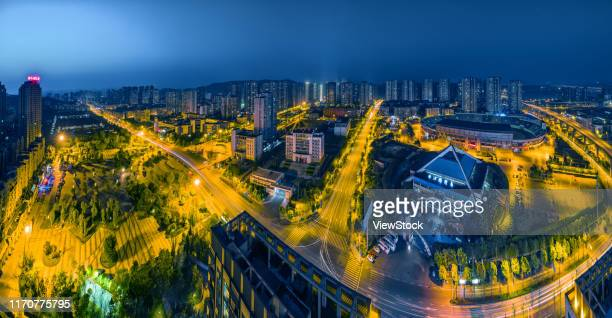 chongqing urban construction - visual_effects stock pictures, royalty-free photos & images