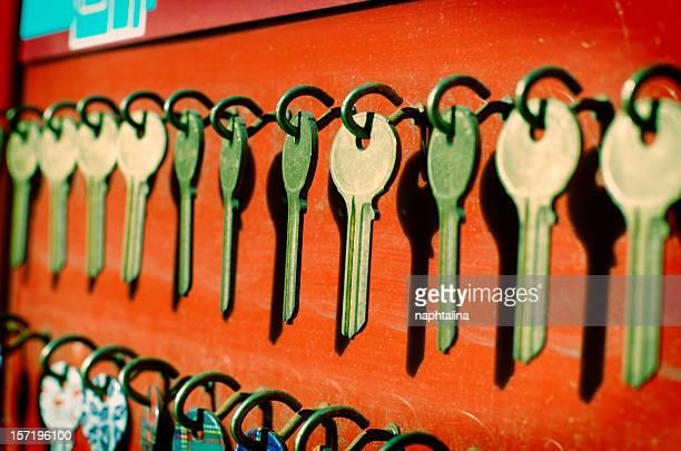 choose your key - locksmith stockfoto's en -beelden