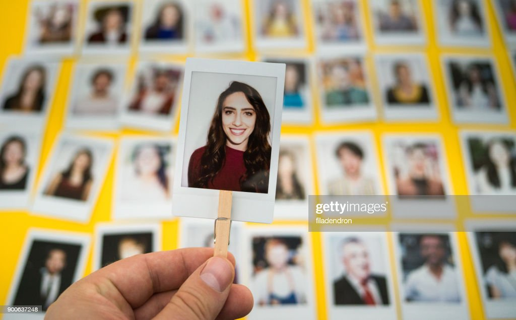 Choosing an employee : Stock Photo