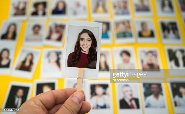 choosing an employee - individuality stock photos and pictures