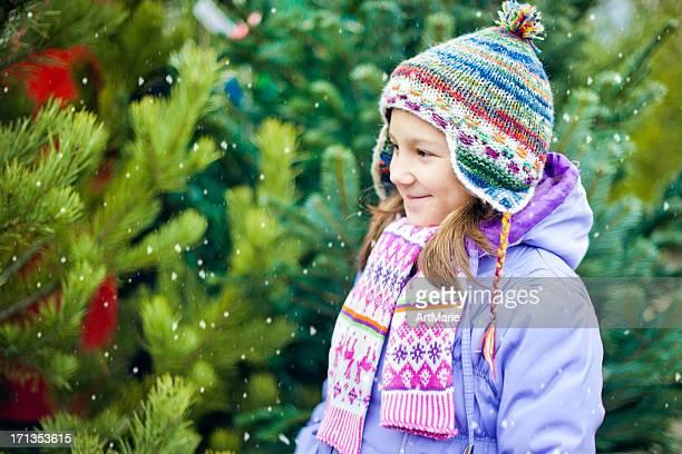 Choosing Christmas tree