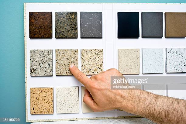 Choosing counter top pattern