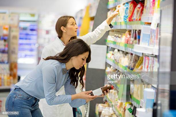 Choosing organic products
