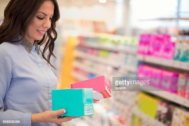 Choosing tampons