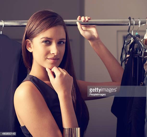 Choosing the perfect dress...