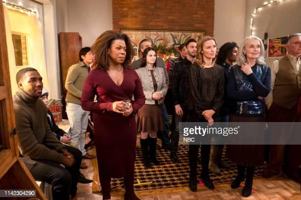 THE VILLAGE Choosing to Hope Episode 108 Pictured Jerod Haynes as Ben Jones Lorraine Toussaint as Patricia Davis Michaela McManus as Sarah Campbell...
