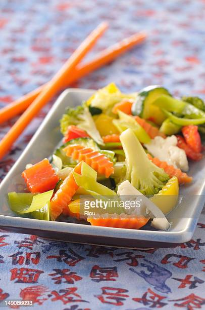 chop suey vegetables - chop suey stock photos and pictures