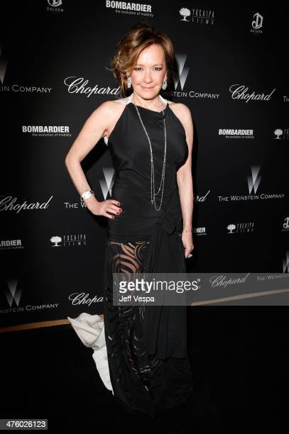 Chopard CoPresident and Creative Director Caroline Scheufele attends The Weinstein Company's Academy Award party hosted by Chopard and DeLeon Tequila...