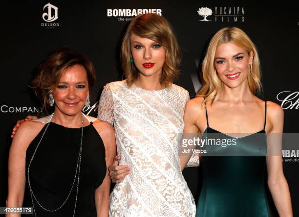 Chopard CoPresident and Creative Director Caroline Scheufele musician Taylor Swift and actress Jaime King attend The Weinstein Company's Academy...