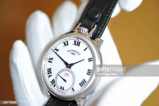 Chopard LUC LouisUlysse 'The Tribute' wristwatch made to celebrate the 150th anniversary of Chopard with its sale proceeds to benefit the Geneva...