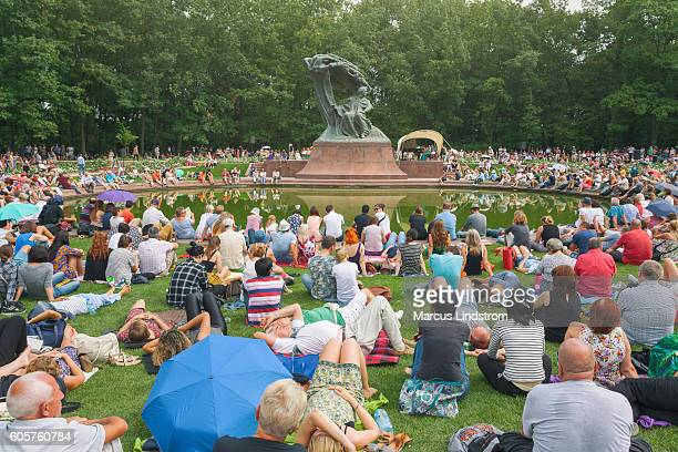 Chopin concert in Lazienki Park