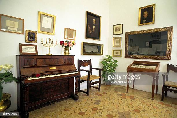 Chopin's Majorcan piano in Valldemosa Spain in May 1997