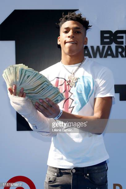 Choppa attends the Pantene Style Stage at the 2019 BET Awards at the 2019 BET Awards at Microsoft Theater on June 23 2019 in Los Angeles California