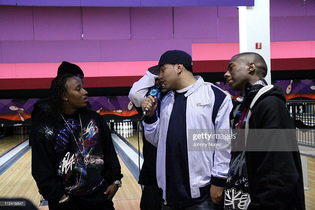 Choppa City Boyz and DJ Cipha Sounds during BG and Choppa City Boyz