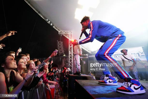 Choppa performs onstage at DNES Marketing during the 2019 SXSW Conference and Festivals at Stubbs on March 15 2019 in Austin Texas