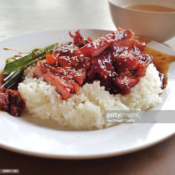 Chopped Meat With Rice