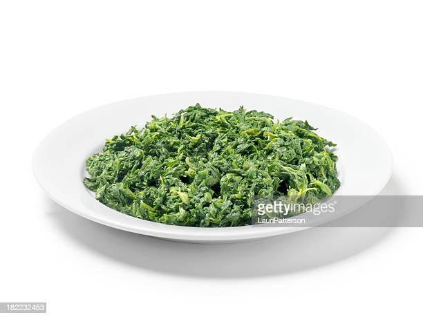 Aliment émincé épinards