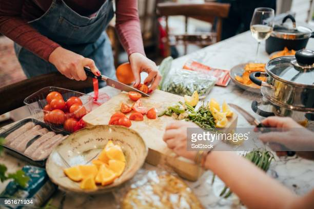 chopping food ingredients - chopping stock pictures, royalty-free photos & images