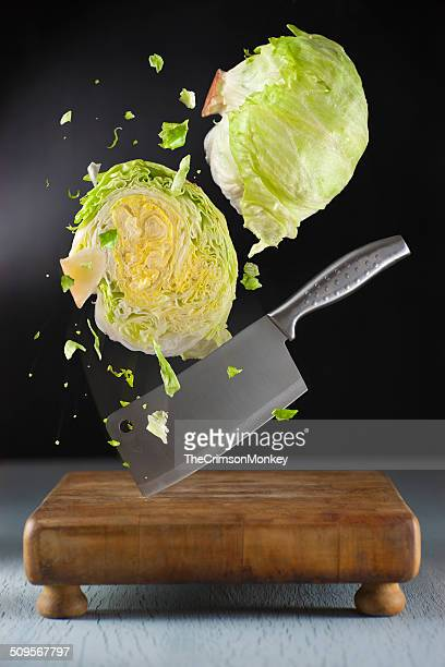Chopping Lettuce