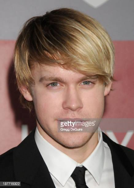 Chord Overstreet arrives at the 12th Annual Warner Bros and Instyle PostGolden Globe Party at the Beverly Hilton Hotel on January 16 2011 in Beverly...