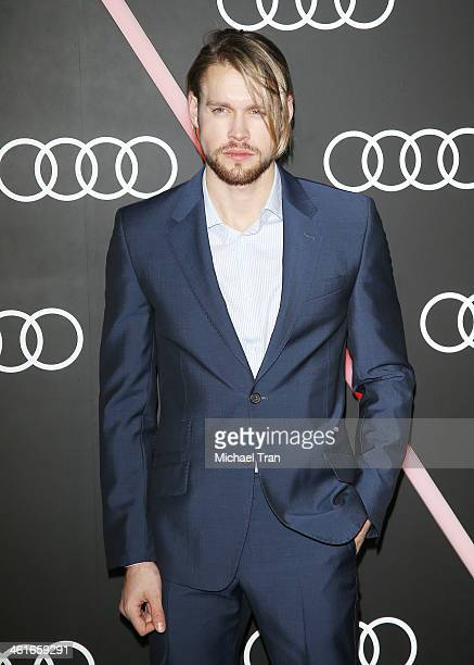 Chord Overstreet arrives at the Audi Golden Globe 2014 kick off cocktail party held at Cecconi's Restaurant on January 9 2014 in Los Angeles...