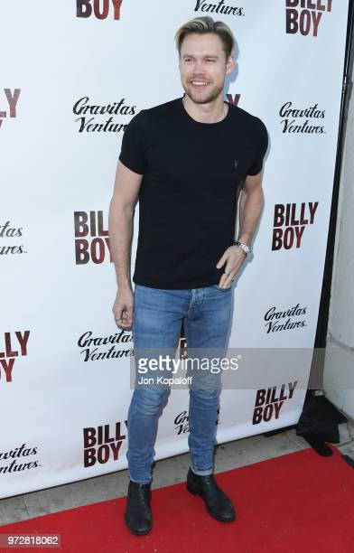 Chord Overstreet attends 'Billy Boy' Los Angeles Premiere at Laemmle Music Hall on June 12 2018 in Beverly Hills California