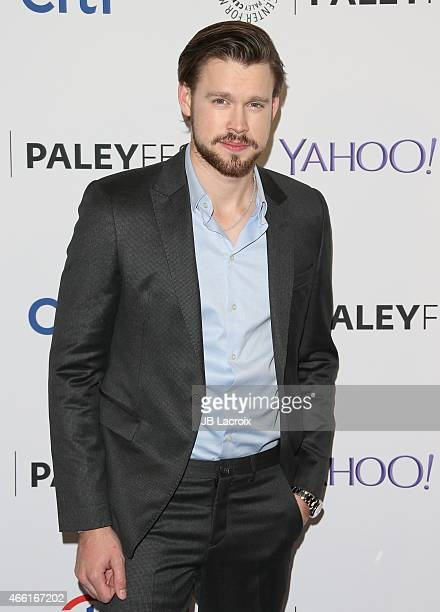 Chord Overstreet attends The Paley Center for Media's 32nd annual PALEYFEST LA 'Glee' at Dolby Theatre on March 13 2015 in Hollywood California