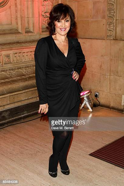 Choregrapher and 'Strictly Come Dancing' judge Arlene Phillips attends the National Television Awards 2008 at the Royal Albert Hall on October 29...