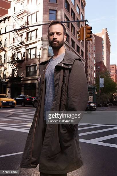 Choregrapher Benjamin Millepied is photographed for Vanity Faircom on April 19 2016 in New York City