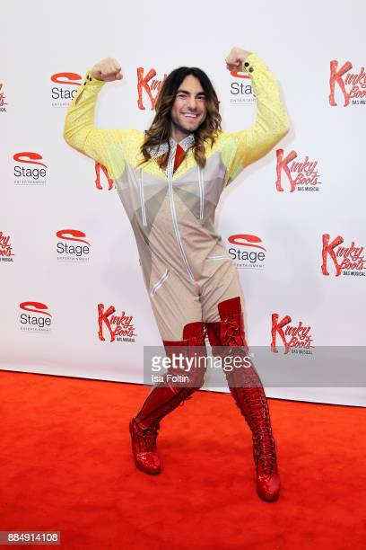 Choreograph Cale Kalay attends the 'Kinky Boots' Musical Premiere at Stage Operettenhaus on December 3 2017 in Hamburg Germany