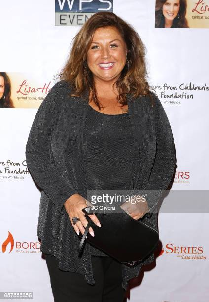 Choreographer Abby Lee Miller attends Whispers from Children's Hearts Foundation's 3rd Legacy Charity Gala at Casa Del Mar on March 24 2017 in Santa...
