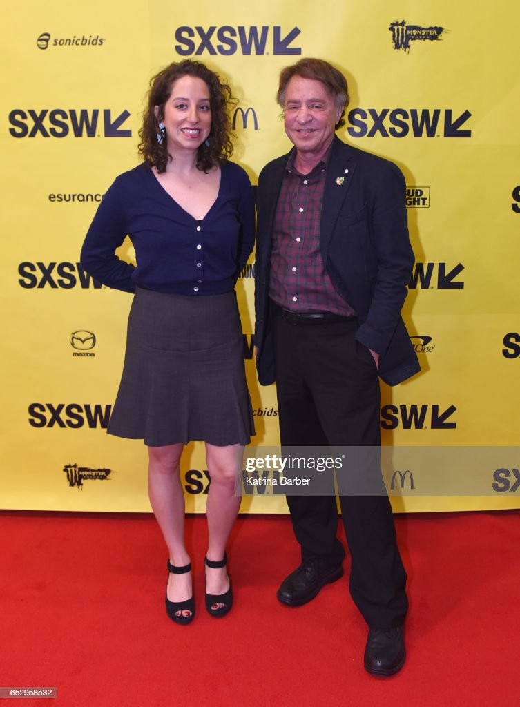 Choreographer Amy Kurzweil and author Ray Kurzweil attend 'Ray and Amy Kurzweil on Collaboration and the Future ' during 2017 SXSW Conference and Festivals at Austin Convention Center on March 13, 2017 in Austin, Texas.