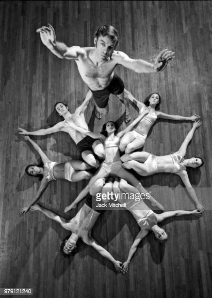 Choreographer and company founder Paul Taylor and company performing 'Private Domain' in 1969