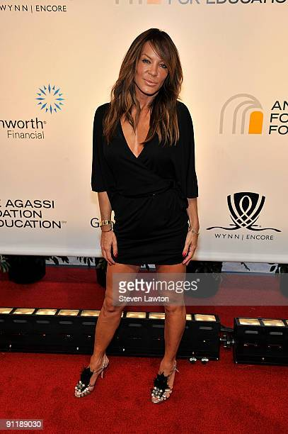Choreographer and Pussycat Dolls creator Robin Antin arrives at the 14th annual Andre Agassi Charitable Foundation's Grand Slam for Children benefit...