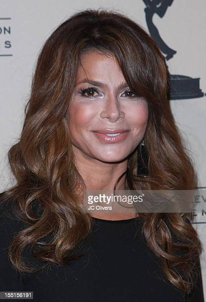 Choreographer and recording artist Paula Abdul attends Academy Of Television Arts Sciences' Entertainment Activities Committee's The Choreographers...