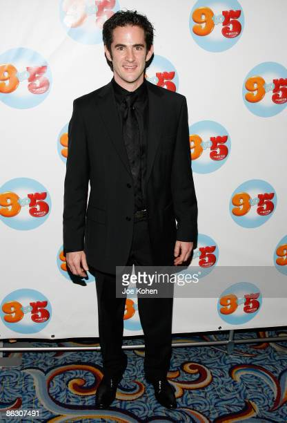 Choreographer Andy Blankenbuehler attends the 9 to 5 The Musical Broadway opening night party at the Marriott Marquis on April 30 2009 in New York...