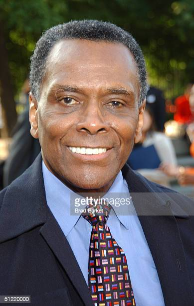 Choreographer Arthur Miller arrives at the National Black Sports and Entertainment Hall of Fame at Aaron Davis Hall on August 25 2004 in New York City