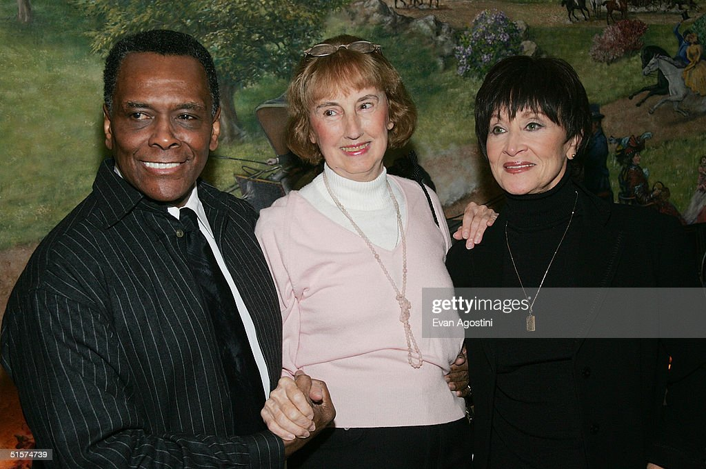 Choreographer Arthur Mitchell, honoree Martha Swope and actress Chita Rivera attends the 2004 Tony Honors For Excellence In Theater luncheon at Tavern On The Green October 26, 2004 in New York City.