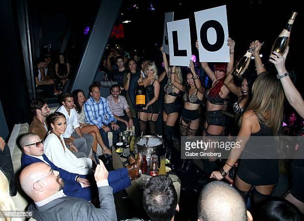 fa1aecff5466 Choreographer Beau Casper Smart and actress singer Jennifer Lopez celebrate  Lopez s residency launch at Chateau