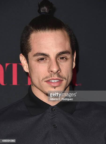 Choreographer Beau Casper Smart attends LATINA Magazine's Hollywood Hot List party at the Sunset Tower Hotel on October 2 2014 in West Hollywood...